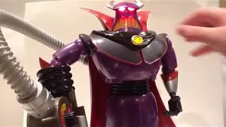 Video Review of the Disney Store Disney Pixar Toy Story Buzz & Zurg Talking Action Figures