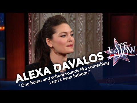 Alexa Davalos A Lifelong Traveler Has No Plans To Settle Down