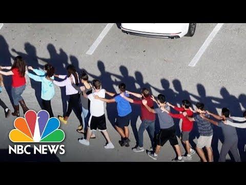 Videos Capture Terrifying Scenes Inside Florida School Shooting | NBC News