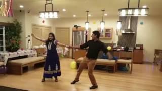 Couple dance on Rang de to mohe Gerua - Dilwale(SRK-Kajol)