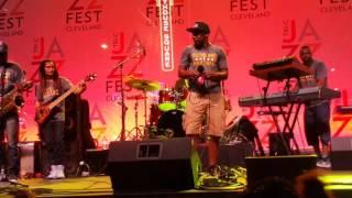 Funkyard X Tri-C Jazzfest #tricjazzfest vocals Willie Mac III MD Stephen Johnson