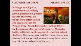 Alexander the Great - reading lesson for kids
