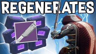 POWER AMMO REGENERATION SWORD! (Destiny 2)