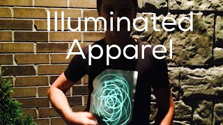 GLOWING T-SHIRTS! Illuminated Apparel