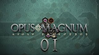 OPUS MAGNUM   HANGOVER CURE #01 Amazing Alchemist Game - Let's Play / Gameplay