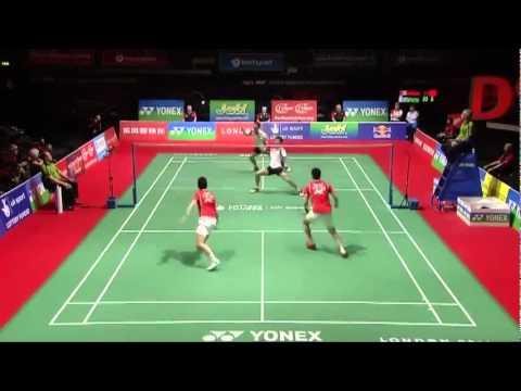 World Cup Badminton MD - Cai Y./Fu H. vs Ko S.H./Yoo Y.S #3