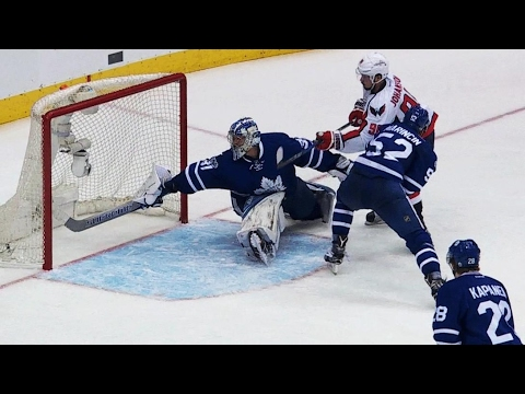 Johansson in OT pushes Capitals to round two ends Maple Leafs season