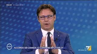 Su dazi e commercio col Canada è scontro tra Ciocca (Lega) e Gualtieri (PD)
