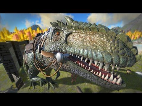 ARK Survival Evolved Taming A GIGANOTOSAURUS 49