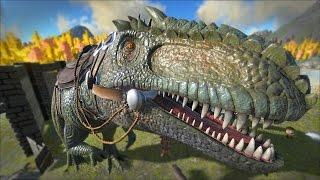 ARK: Survival Evolved - Taming A GIGANOTOSAURUS!! [49]