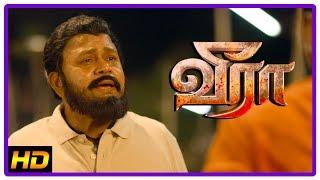 Veera Tamil Movie Scenes | Charandeep wants Krishna to abduct a girl | Karunakaran | Radha Ravi