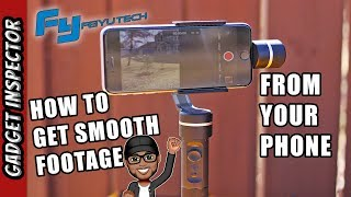 FeiyuTech SPG 3-Axis Gimbal with Action Camera Adapter - Review and Video Samples
