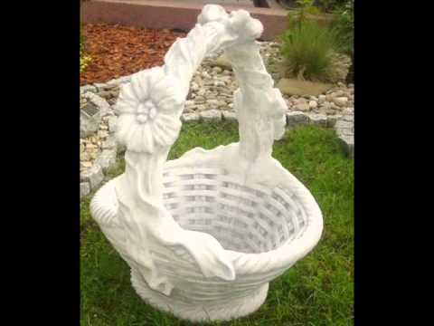 могу как сделать садовую фигуру из гипса накачать