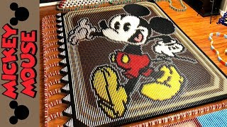 Mickey Mouse (IN 25,751 DOMINOES!)