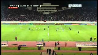 CAF CL 2011 : FINALE ALLER WYDAD - ESPERANCE (MATCH COMPLET)  ISSAM CHOWALI