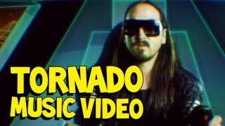 tornado  steve aoki  tisto music video