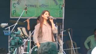 Sesh bela By Somlata in Chakdaha College Social 2016