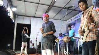 Kazi Shuvo Stage Performance In   Monpura Park