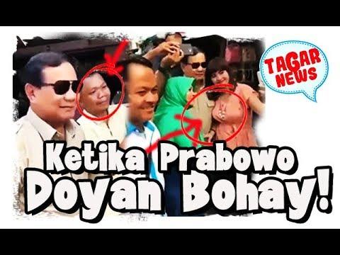 Ketika Prabowo Lebih Doyan 'Tante' Bening
