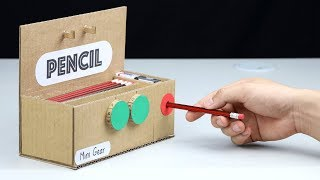 How to Make Pencil Sharpener with Safe Lock