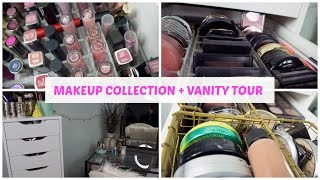 MAKEUP COLLECTION EP. 1: An overview + vanity tour!