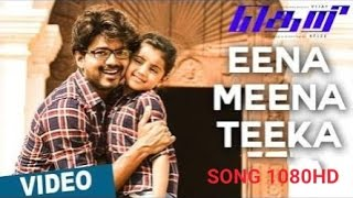 Eena Meena Teeka Video Song  Theri  Vijay, Samantha, Amy Jackson  Atlee  G V Prakash Kumar
