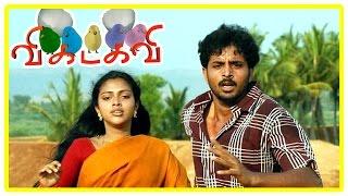 Vikadakavi Tamil movie | climax scene | Amala Paul and Sathish unite | End Credits