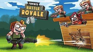 Minecraft Fortnite - BASE DEFENSE CHALLENGE! (Fortnite Battle Royale Mods)