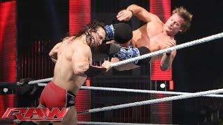 Neville vs. Chris Jericho: Raw, March 14, 2016