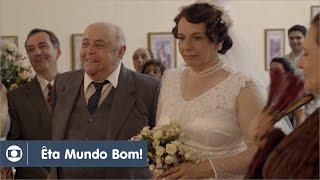 Êta Mundo Bom!: capítulo 80 da novela, terça, 19 de abril, na Globo
