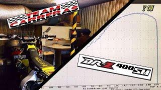 Jo' La Douille #25 : Suzuki Drz 400 sur banc de puissance ! ( Team Carreras ) DYNO RUN
