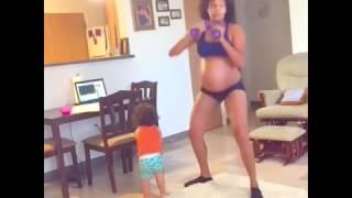 Brunette Pregnant Belly- New Prenant.mp4