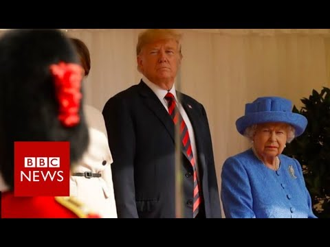 Xxx Mp4 Trump I Was Waiting 15 Minutes For The Queen BBC News 3gp Sex
