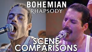 Bohemian Rhapsody (2018) - scene comparisons