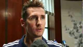 8 Sep 2013 Miroslav Klose Exclusive Interview