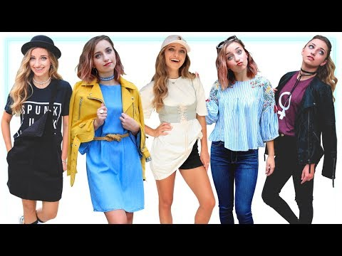 6 MUST-HAVE LOOKS FOR BACK TO SCHOOL 2017 | Brooklyn and Bailey