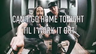 Can't Go Home Lyrics Steve Aoki and Felix Jaehn (feat. Adam Lambert)