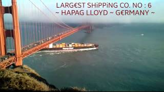 WORLD '10' LARGEST SHIPPING COMPANY (2015)