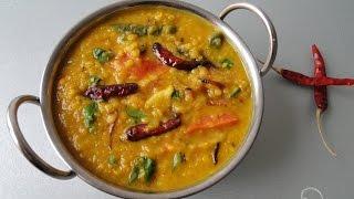 Masoor Dal Vuna | Red Lentils Curry with English Subtitle | মুসুর ডাল ভুনা