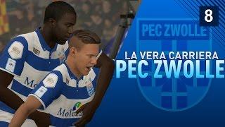 """FIFA 17 [LA VERA CARRIERA ALLENATORE] """"Rigore per lo Zwolle!"""" ep.8"""