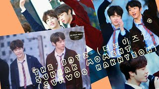 THE BOYZ (더보이즈) SUNHAK (SUNWOO + HAKNYEON) funny & cute moment pt1