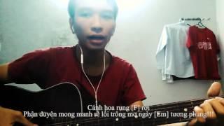 Hướng dẫn đệm hát guitar đơn giản Lạc Trôi - Sơn Tùng MTP (kèm hợp âm và lời bài hát)
