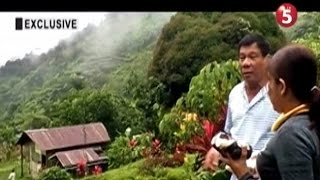 Exclusive   'Hideout' ni Duterte, ipinasilip sa News5