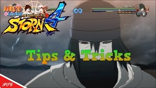 Infinite Combos Ps4 HD ( Tips and Tricks Tutorial ) Naruto Shippuden Ultimate Ninja Storm 4