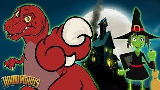 Halloween Songs | Scary Songs & Halloween Dinosaur Songs For Kids by HowdyToons