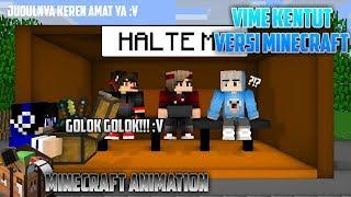 Ketika Lo dituduh  Kentut Vime Versi Minecraft || Minecraft short animation