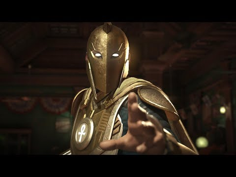 Injustice 2 : Docter Fate Vs Jay Garrick - All Intro/Outros, Clash Dialogues, Super Moves