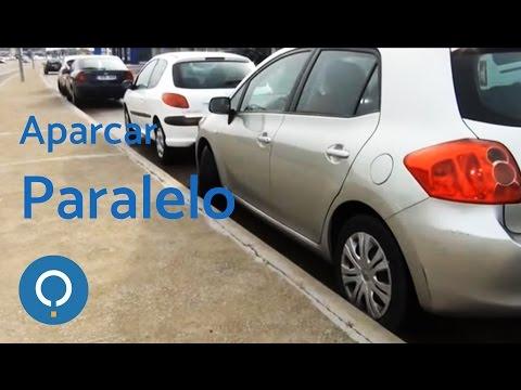 Estacionar un auto en paralelo Aprender a conducir