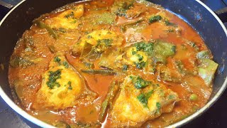 Uri/Shimer Torkari Bangladeshi Flat Bean curry with Fish উরি তরকারি Sylheti Ranna Sylheti Cooking
