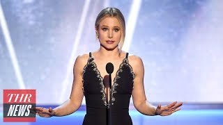 """Kristen Bell Calls for """"Empathy and Diligence"""" in Hollywood at SAG Awards 2018 